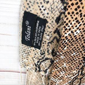 A2 Tolani snake print scarf